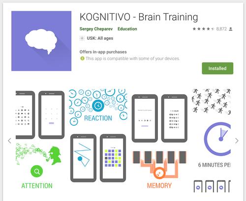 kognitivo store app